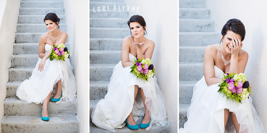 Bridal Portraits at Bentwater Yacht Club