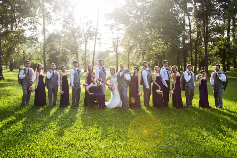 Allie & Zach's Aggie Wedding at Shirley Acres