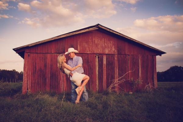 Krista & Blake's Engagement – Milano, TX