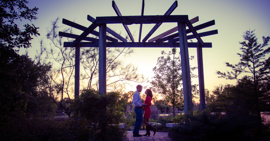 Darin & Valerie's Engagement Session in Montgomery