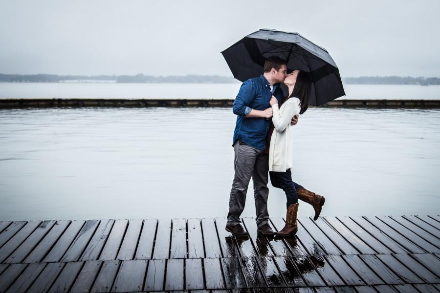 Allie & Zach's Engagement at Bentwater Yacht Club