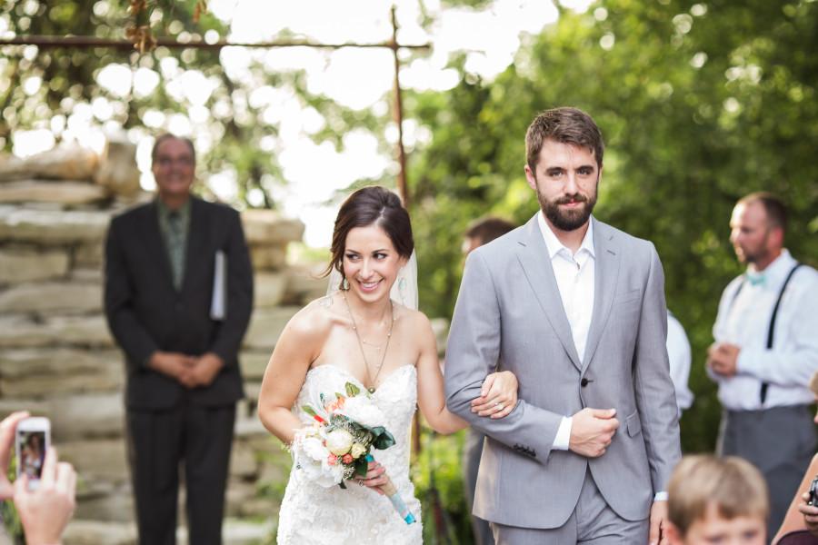 Kayla & Garrett's House on the Hill Austin Wedding