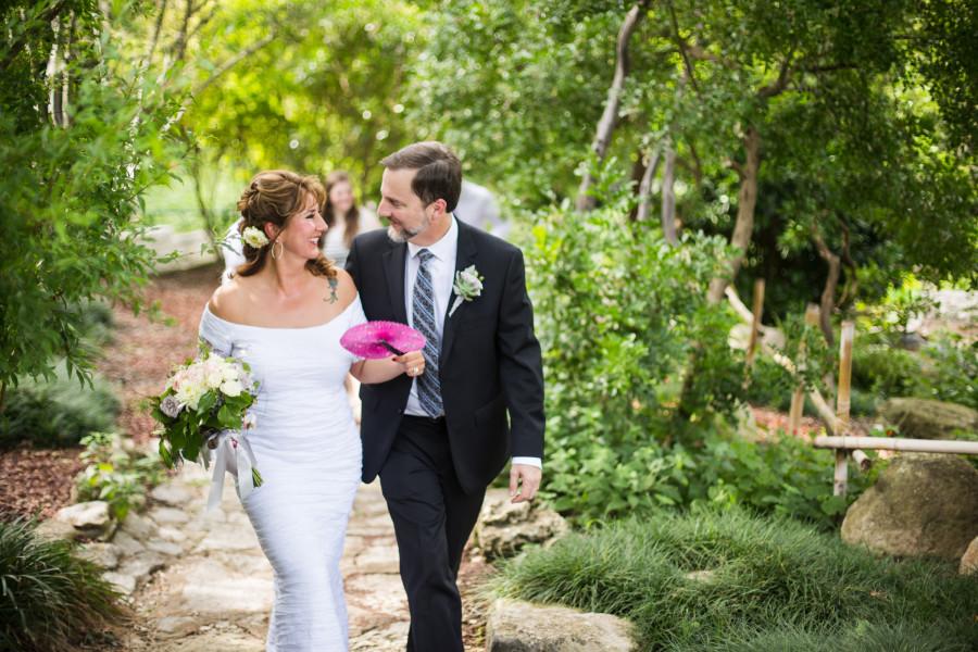 Rebecca & Steve's Zilker Botanical Park Wedding, Austin