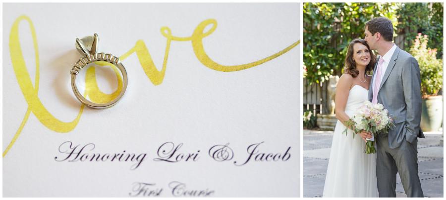 Jacob & Lori's Wedding at Ouisie's Table & Houston City Club