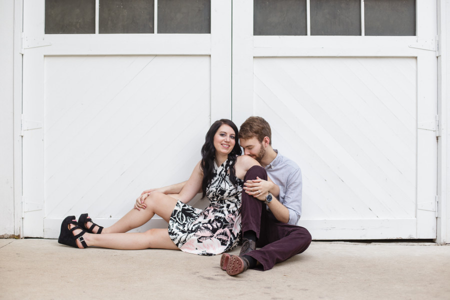Ellyn & Andy's Mayfield Park Austin Engagement