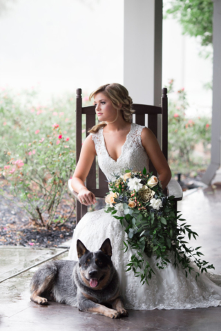 Fredericksburg TX Bridal Portrait