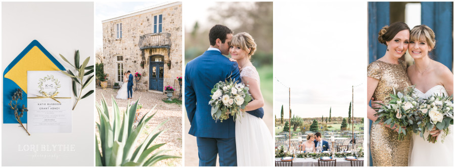 A Tuscany Inspired Texas Wedding Workshop & Shoot at Le San Michele in Buda, TX