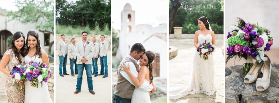Jewel Tones Rustic Glam Wedding at Lost Mission, Spring Branch