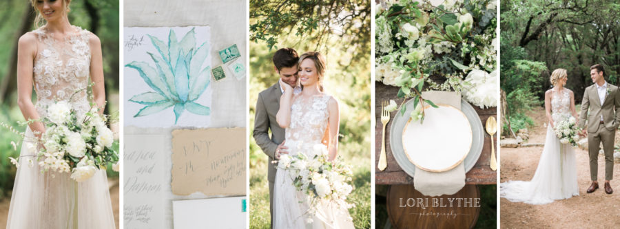 Agave & Sand Styled Shoot at Travaasa in Austin