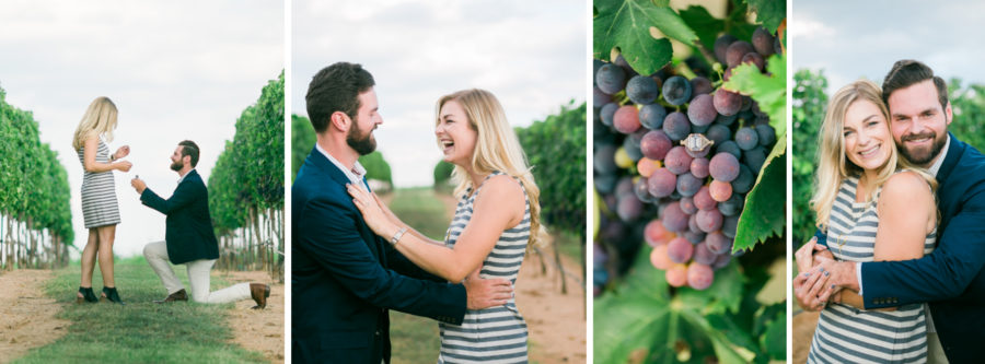 The Best Vineyards to Propose in Fredericksburg