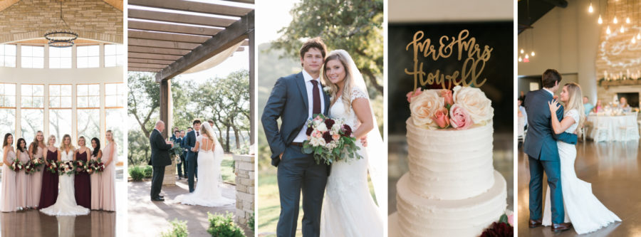 High School Sweethearts Wedding at Canyonwood Ridge in Dripping Springs