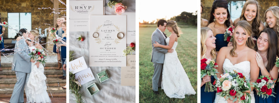 The Lodge Event Center Wedding in Fredericksburg with Ben & Lauren Bosse